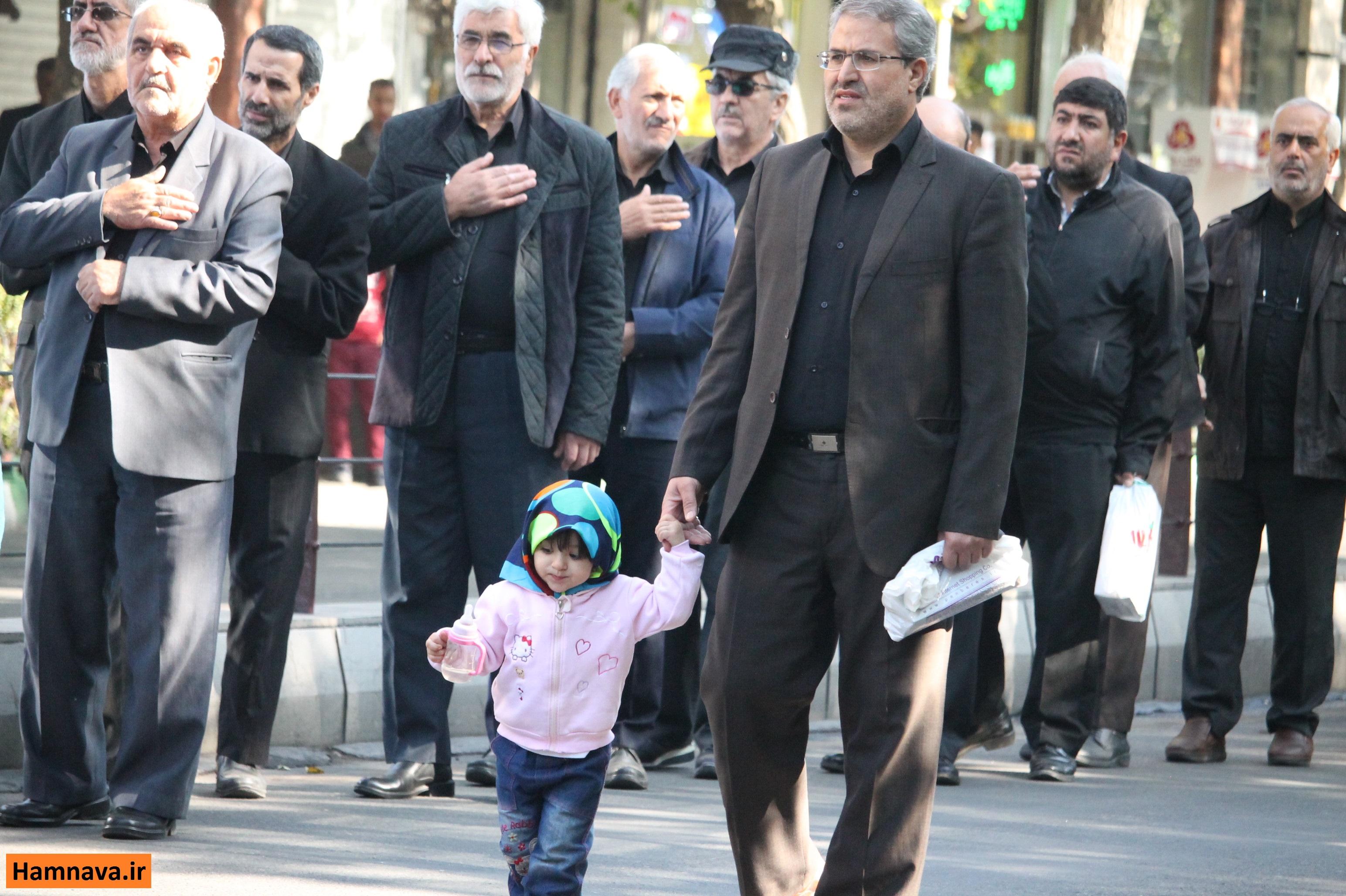 عزاداری مردم تبریز در سوگ امام حسن عسگری(ع)