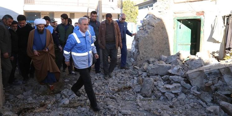 زلزلهزدگان میانه نیاز به اسکان سریع دارند