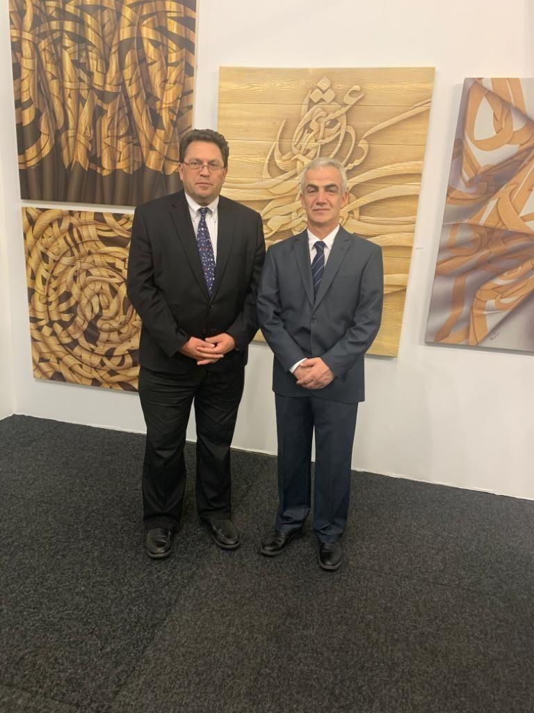 استقبال چشمگیر از آثار استاد سنگتراش در نمایشگاه هنرهای معاصر سوئیس