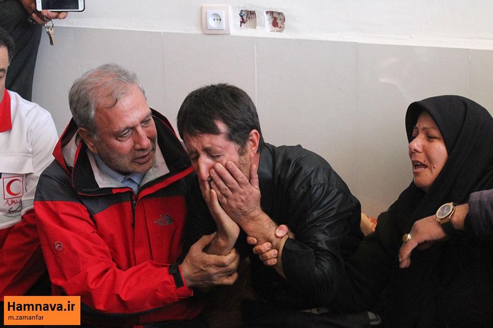 حضور سخنگوی دولت در مناطق زلزله زده میانه/گزارش تصویری