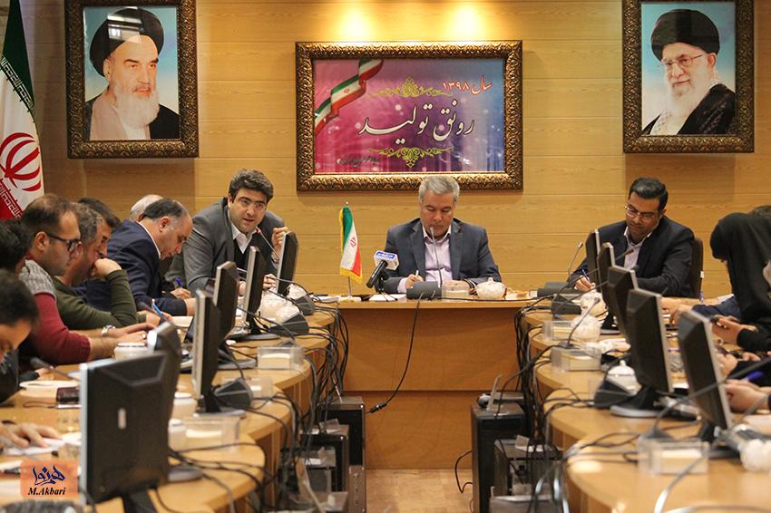 'گزارش تصویری از نشست مطبوعاتی فرماندار تبریز