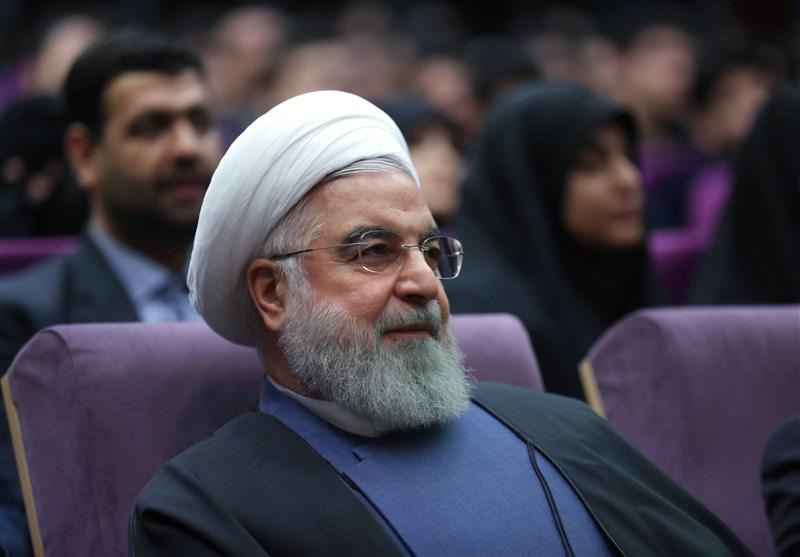 حضور روحانی در دانشگاه فرهنگیان