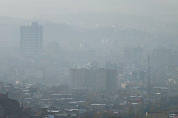 هوای تبریز آلوده است