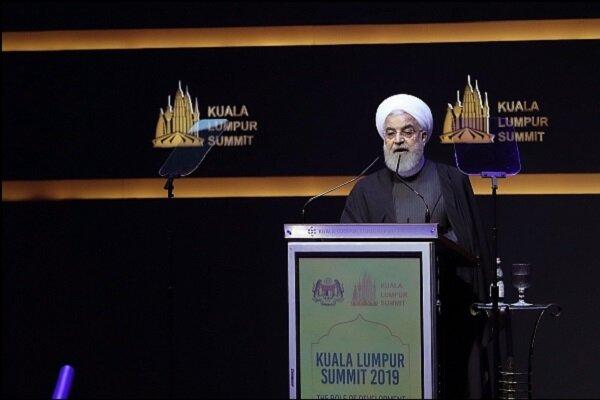 روحانی در اجلاس سران کشورهای اسلامی: جهان اسلام تدابیری برای رهایی از سلطه دلار پیشبینی کند