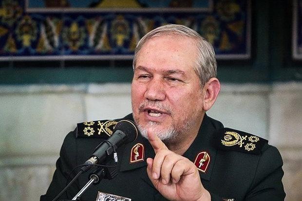 سرلشکر رحیمصفوی: ۶ سیلی محکم به نظامیان آمریکایی در خلیج فارس زدهایم