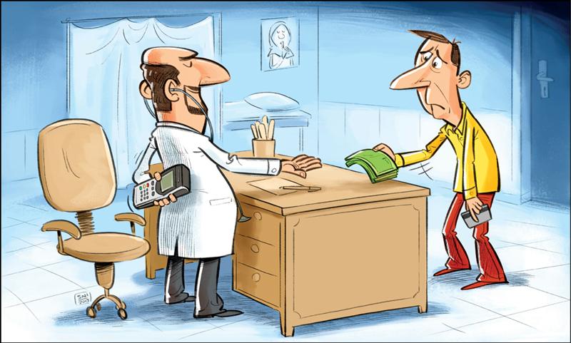 درآمد میلیونی برخی پزشکان عاملی برای نصب نکردن کارتخوان
