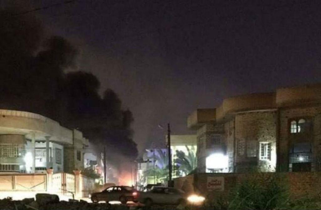 شب ناآرام سفارت آمریکا در بغداد