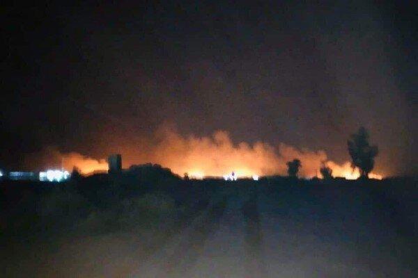 بامداد شنبه؛ حمله های هوایی به نیروهای حشدشعبی در شمال بغداد