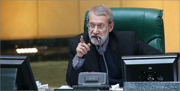 لاریجانی در صحن مجلس:مجلس، بودجه کافی برای نیروی قدس سپاه در نظر میگیرد