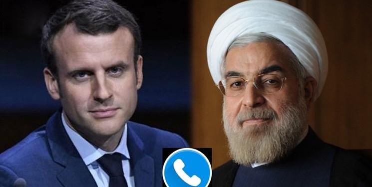 روحانی در گفتوگو با مکرون: مسئولیت عواقب ترور سپهبد سلیمانی بر عهده دولت آمریکا است