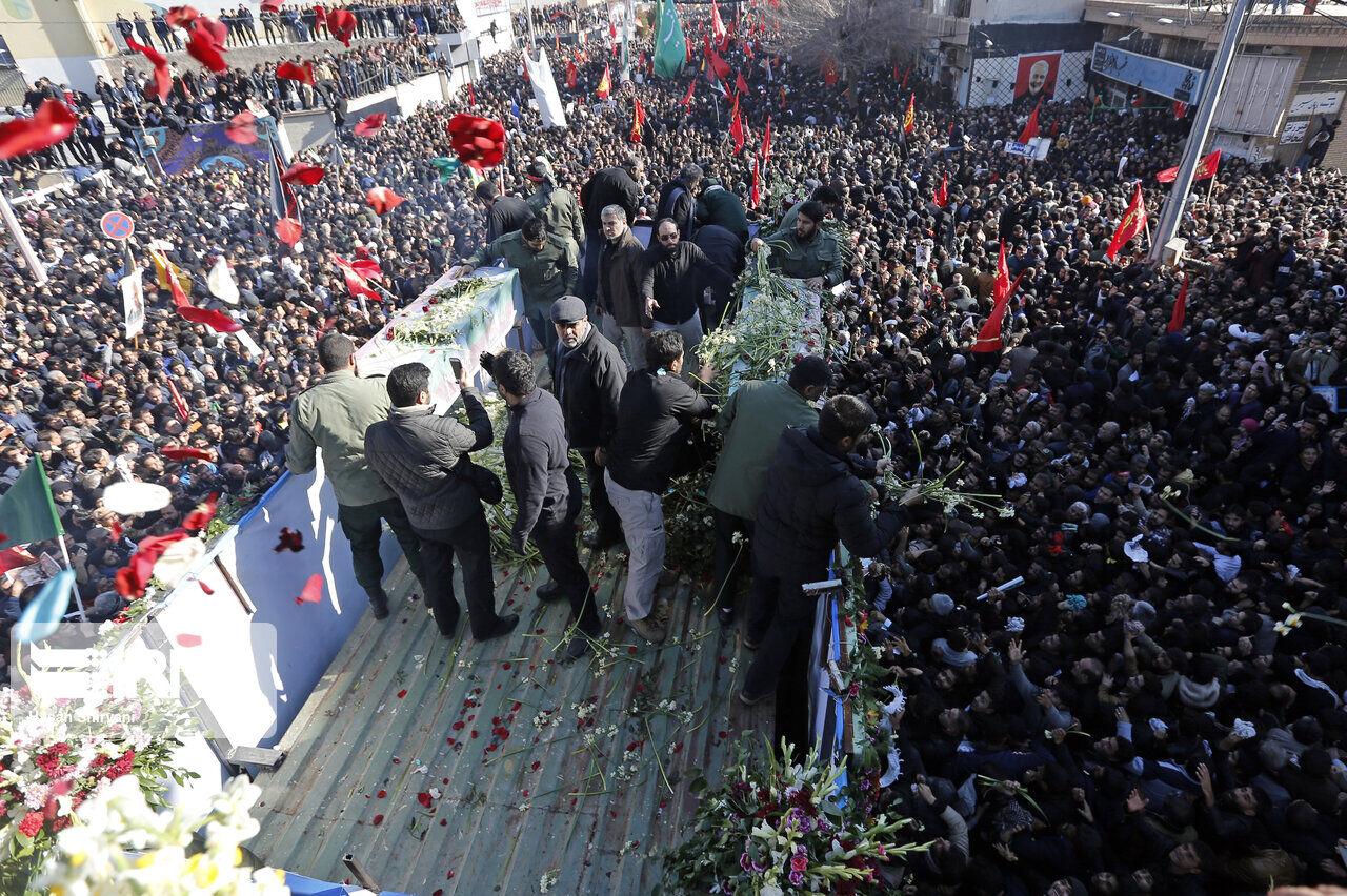 شمار جانباختگان حادثه کرمان به ۵۶ نفر رسید