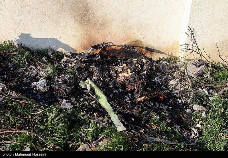 گزارش اولیه سقوط هواپیمای اوکراینی منتشر شد
