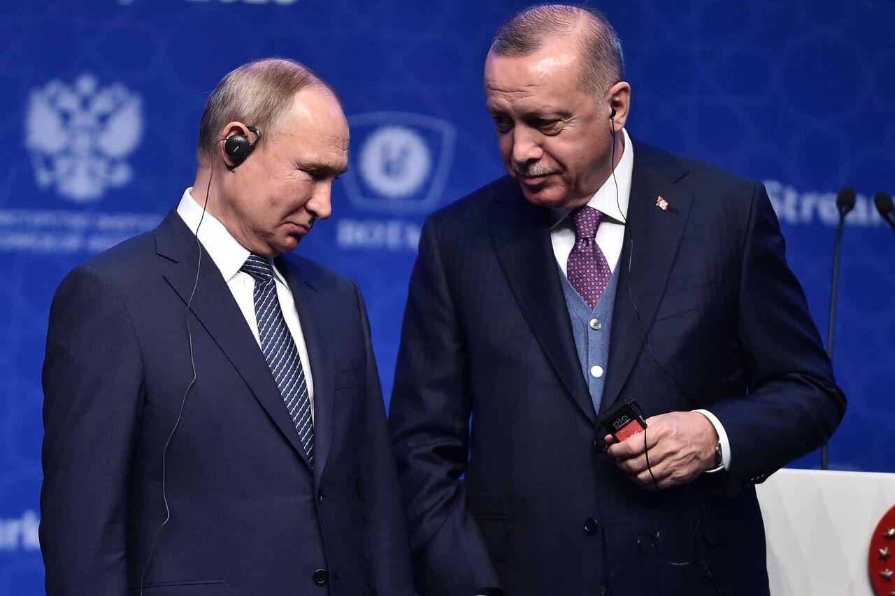 پوتین و اردوغان ترور سردار سلیمانی را اقدامی بیثباتکننده خواندند