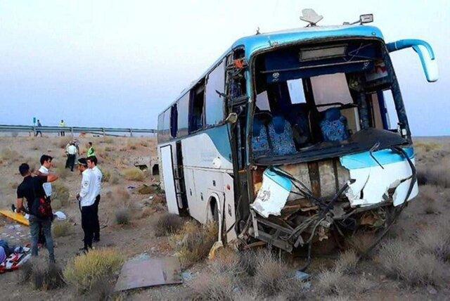 بررسی علت قطعی سانحه اتوبوس مسافربری در سوادکوه