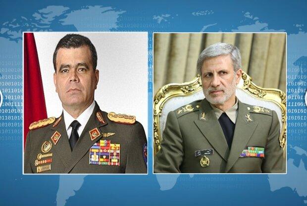 وزیر دفاع ونزوئلا: درکنار ایران برای مبارزه با استکبار خواهیم بود