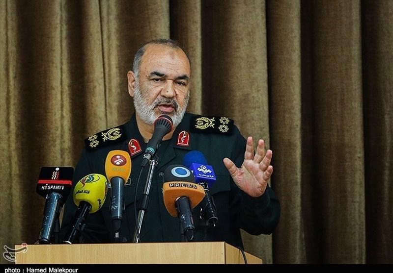 فرمانده کل سپاه پاسداران انقلاب اسلامی:چهارشنبه شب گذشته شرایط کاملاجنگی بود
