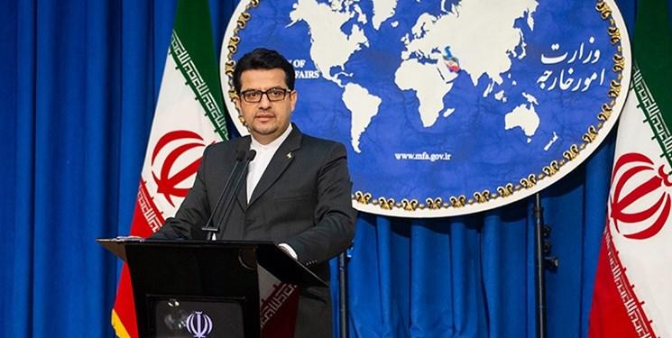 پیام سخنگوی وزارت خارجه به توییت فارسی رئیس جمهور آمریکا