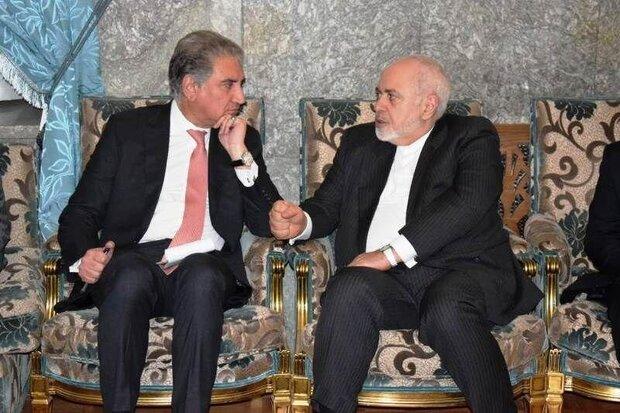 وزیرخارجه پاکستان با ظریف دیدار کرد