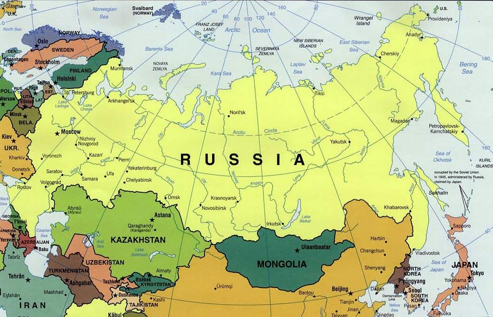 تغییرات سیاسی روسیه