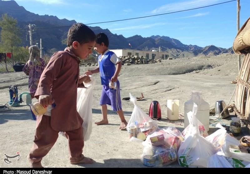 امدادرسانی مستمر سپاه به روستاهای بشاگرد