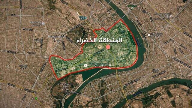 اصابت ۳ موشک به اطراف سفارت آمریکا در مرکز بغداد
