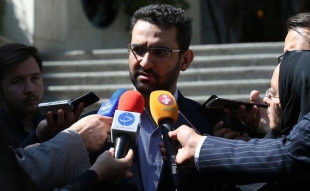 آذری جهرمی در حاشیه جلسه دولت: «ظفر» قبل از دهه فجر به مدار میرود