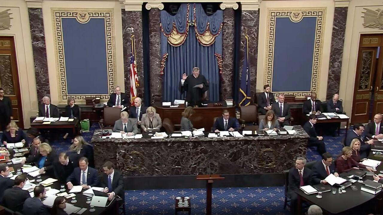 دومین روز محکمه استیضاح ترامپ؛ تفهیم اتهام ترامپ برای تقلب در انتخابات ۲۰۲۰