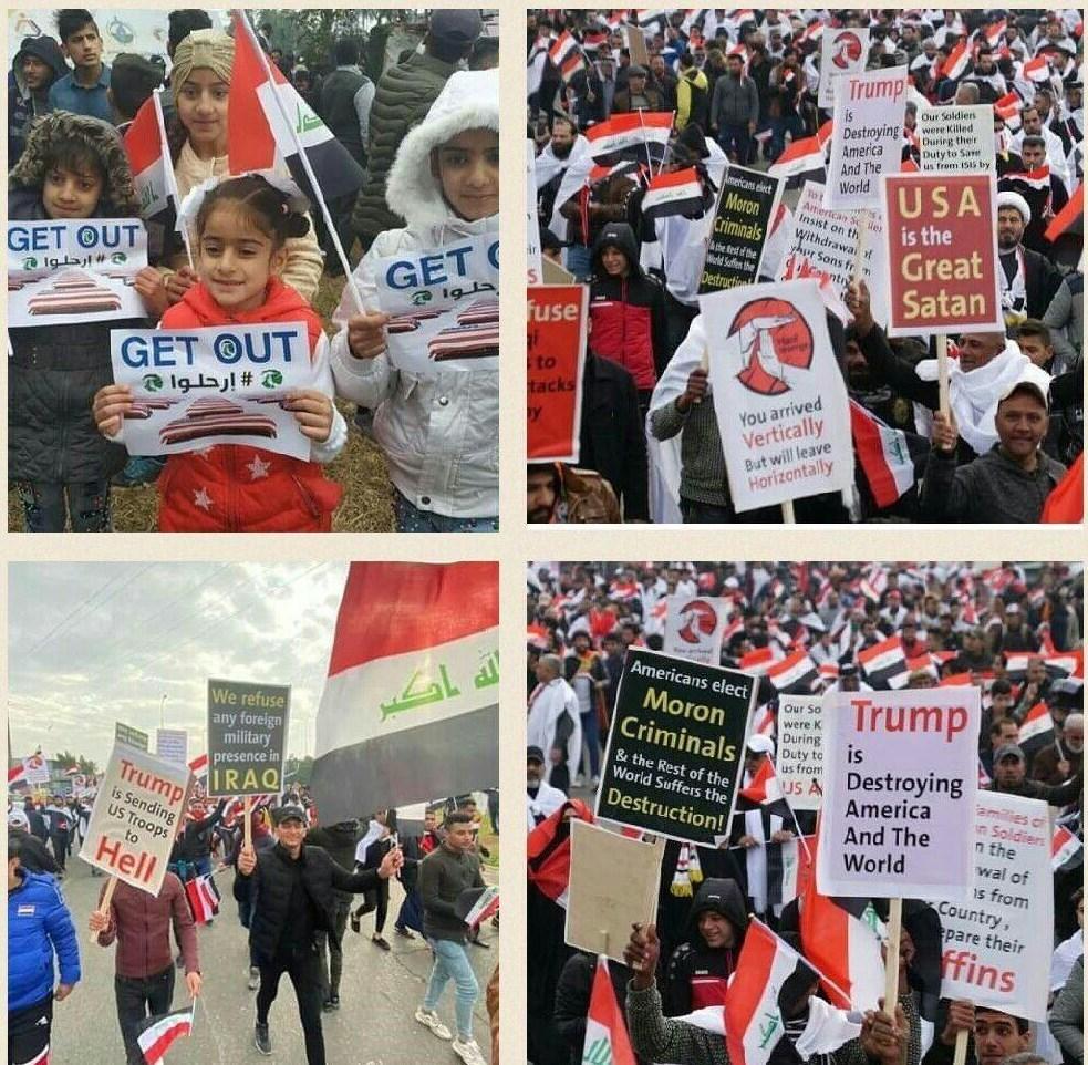 نگاهی به شعارهای متفاوت در تظاهرات میلیونی عراق