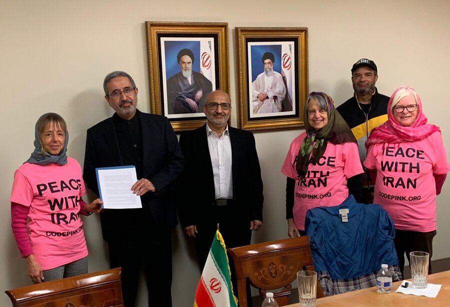 نامه عذرخواهی ۱۰ هزار آمریکایی تحویل ایران شد