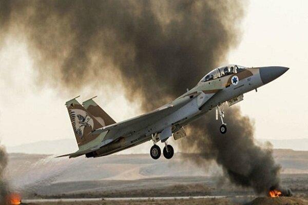 هواپیمای نظامی رژیم صهیونیستی در فلسطین سقوط کرد