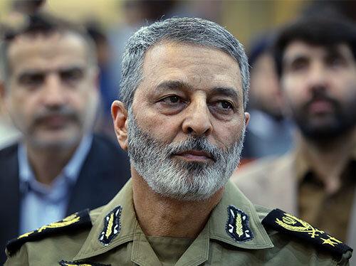 پیام فرمانده کل ارتش در آستانه چهل و یکمین سالگرد پیروزی انقلاب اسلامی