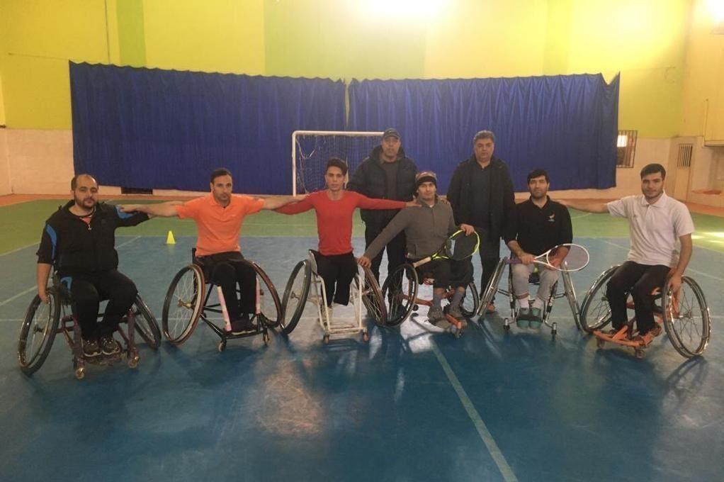 آغاز اردوی تیم ملی تنیس با ویلچر در تبریز