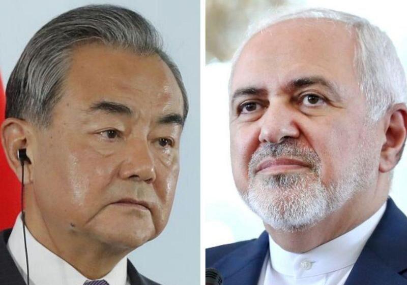 در گفت وگویی تلفنی؛ وزیران امور خارجه ایران و چین آخرین تحولات شیوع کرونا را بررسی کردند