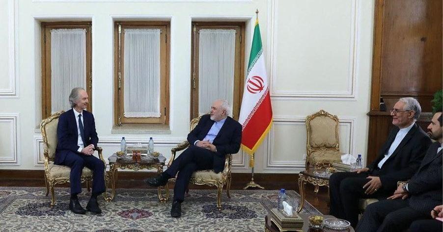 ظریف: ایران آماده همکاری در چارچوب احترام به حاکمیت و استقلال سوریه است