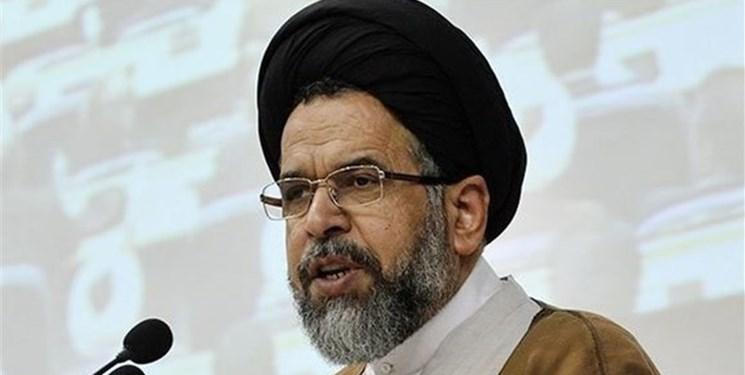 وزیر اطلاعات: با حضور در راهپیمایی ۲۲ بهمن مخالفت خود را با طرح مختوم «معامله قرن» اعلام می داریم