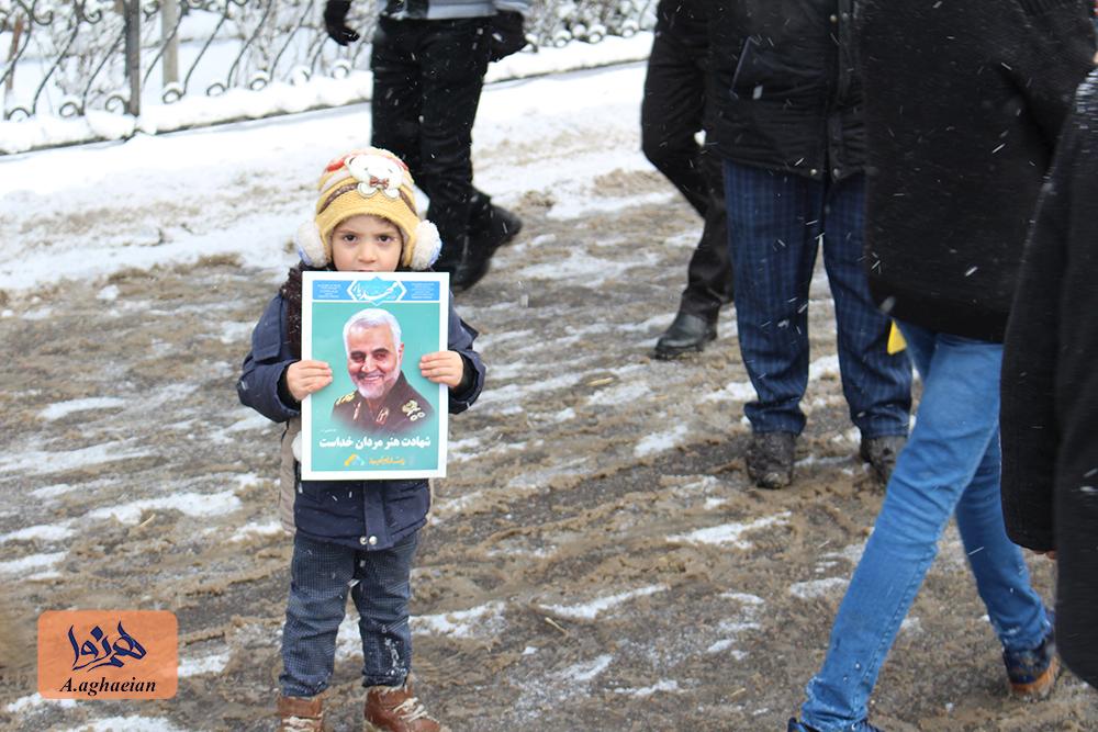 گزارش تصویری راهپیمایی 22 ام بهمن ماه