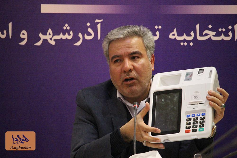 گزارش تصویری/ نشست خبری فرماندار تبریز