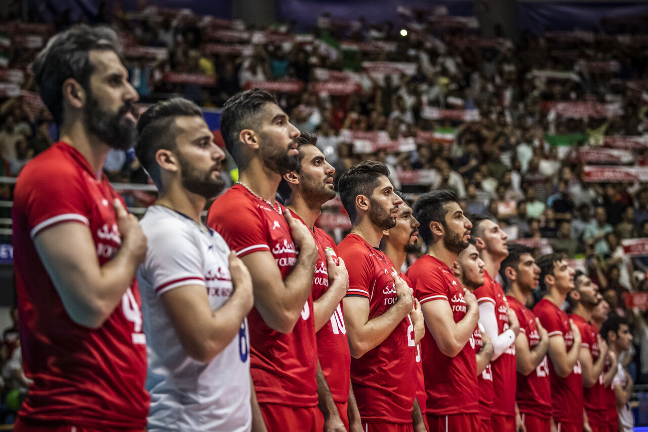 برنامه مسابقات والیبال ایران در المپیک مشخص شد