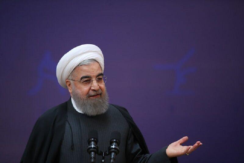 روحانی در نشست خبری: هیچ گاه با ضعف پای میز مذاکره نخواهیم رفت