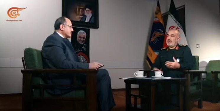سردار سلامی: ایران هیبت ساختگی آمریکا را فرو ریخت