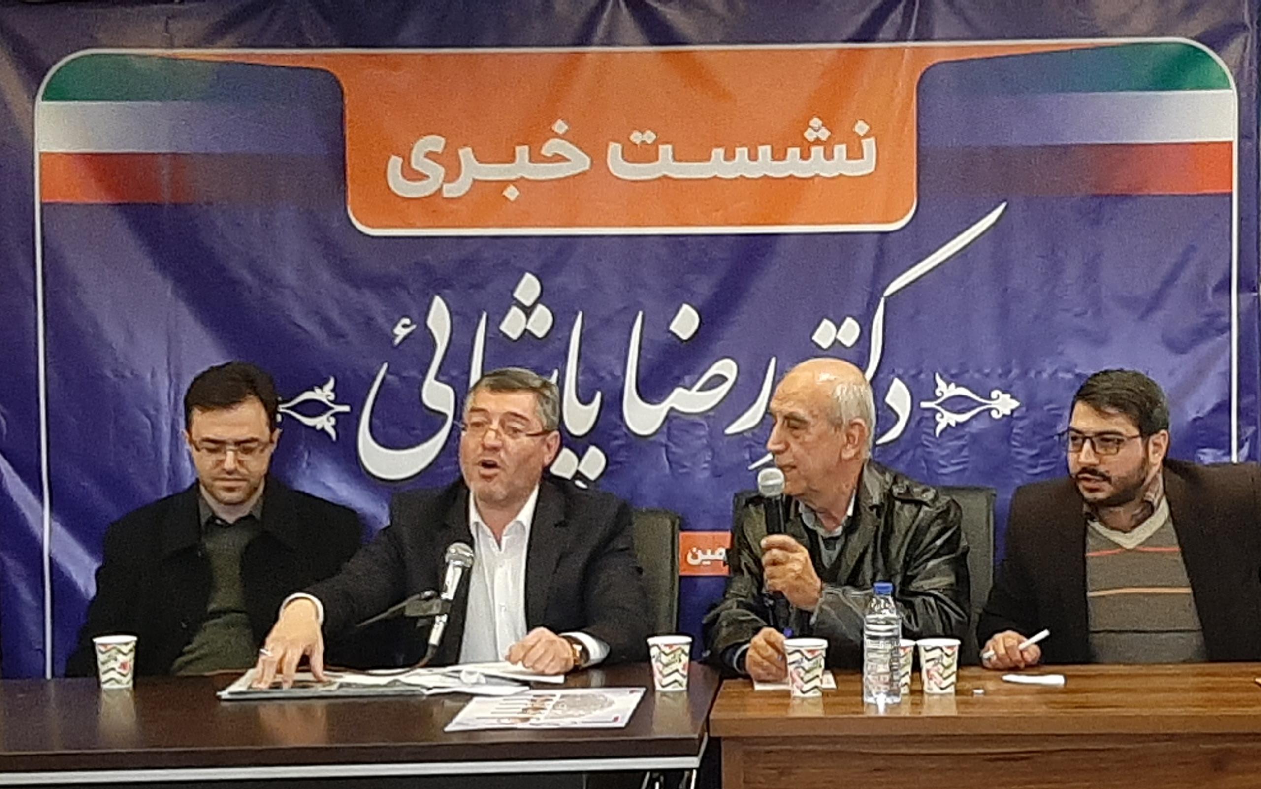 رضا پاشایی: من با احزاب انتخاباتی که یک روز بروز می کند و روز بعد از بین می رود مخالفم