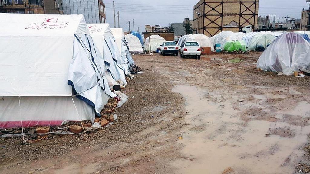 ارسال ۲۵۰۰ دستگاه چادر به مناطق زلزلهزده قطور